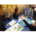 Labelling the seven continents of the world.