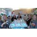 Staff also enjoyed their Christmas lunch.