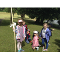 Class 2 after collecting items needed in the hunt