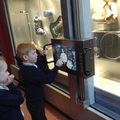 Children explore the Enginuity Museum