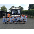 Class 1 with Munch the recycling lorry.