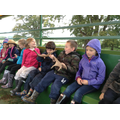 The tractor ride at Chetwynd Deer Park