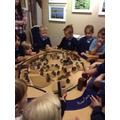 Children build a city