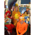 The Tiger came to tea with Class 1