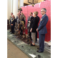 Unveiling of the Shropshire Centenary Sculpture