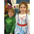 Children dress up in Class 1 for World Book Day