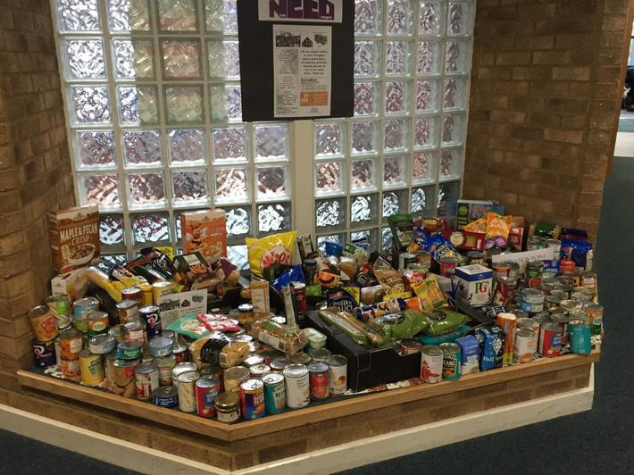 Donations from Church End families