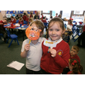 Look at the fantastic puppets we made!