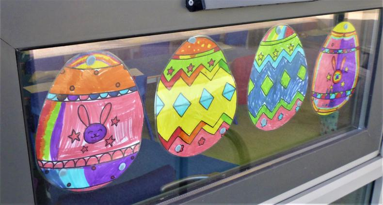 Can you find your egg in the window?