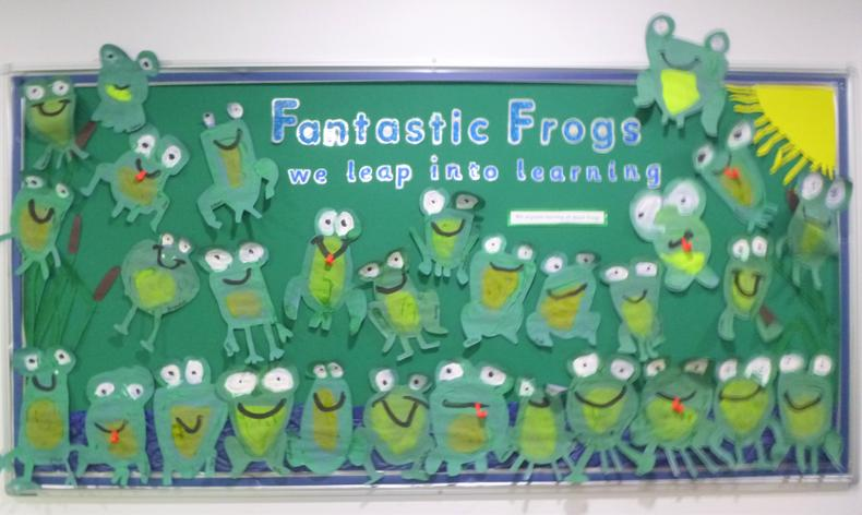 We are all unique! Do you like our frogs?