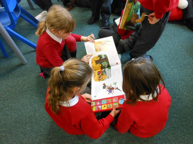 We love sharing books in a group ...