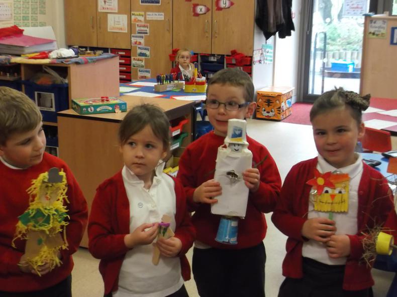 The children all did a fantastic job!