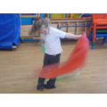 Dancing to music from 'Frozen'