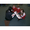 Some of us read with Mrs Hackett.