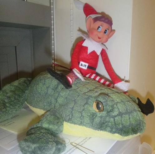 Jingles the Class 5 elf!
