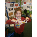 We made Chinese dragons.