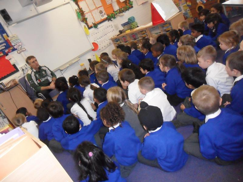 Mr Pearse reads a story