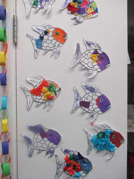...and our rainbow fish!
