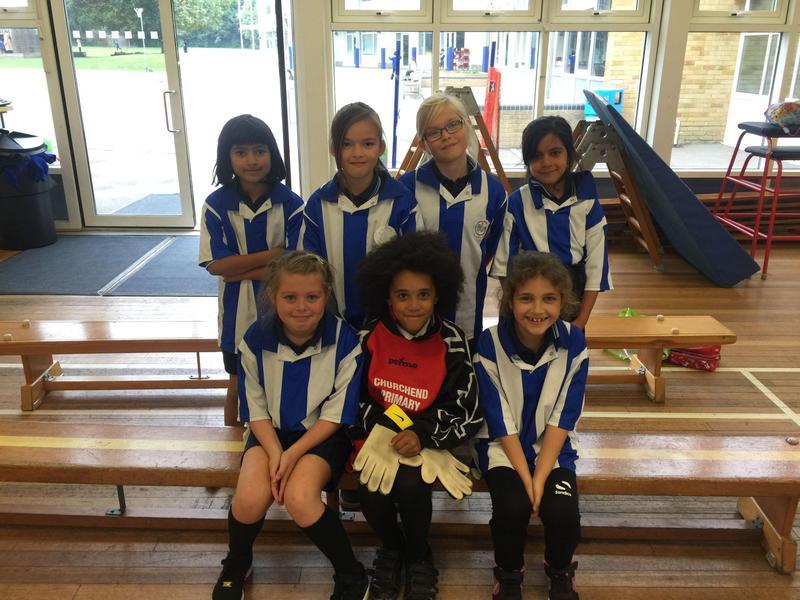 Under 8s Girls Football Team