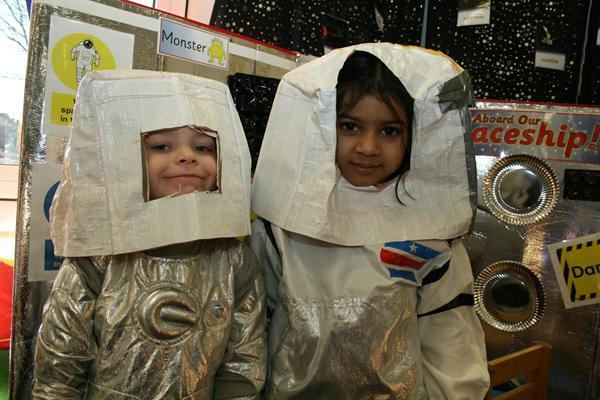Ready for a space walk!