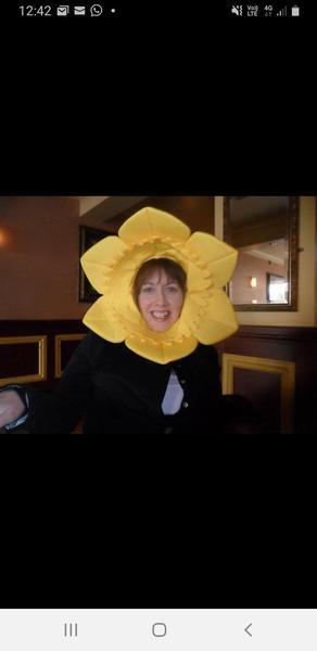 Mrs Burridge-bringing the sunshine