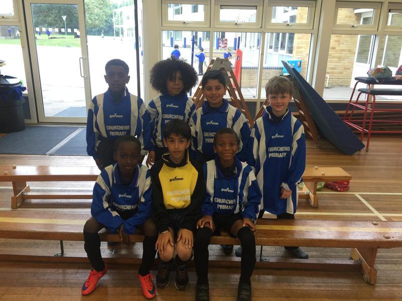 Under 8s Boys Football Team