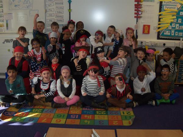 Do we look like fierce pirates?
