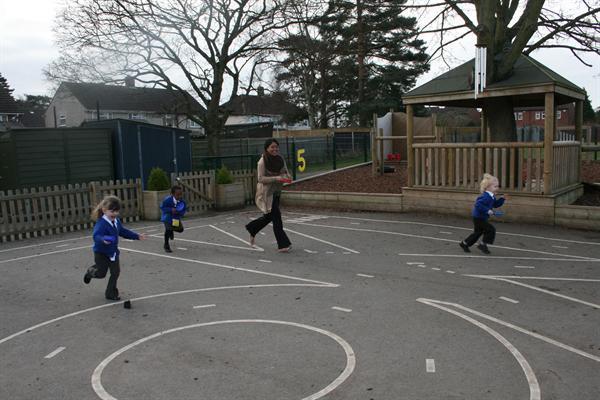 Run faster Mrs Amin!