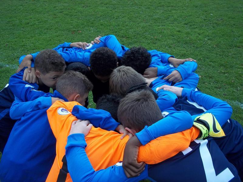 Amazing team spirit