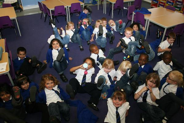 Our class Jeans for Genes Day October 2012