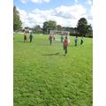 Huntley star strikers - goal celebtration