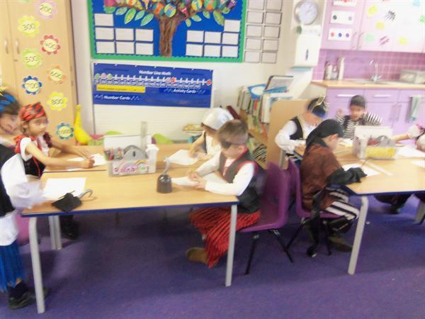 Busy designing our ships