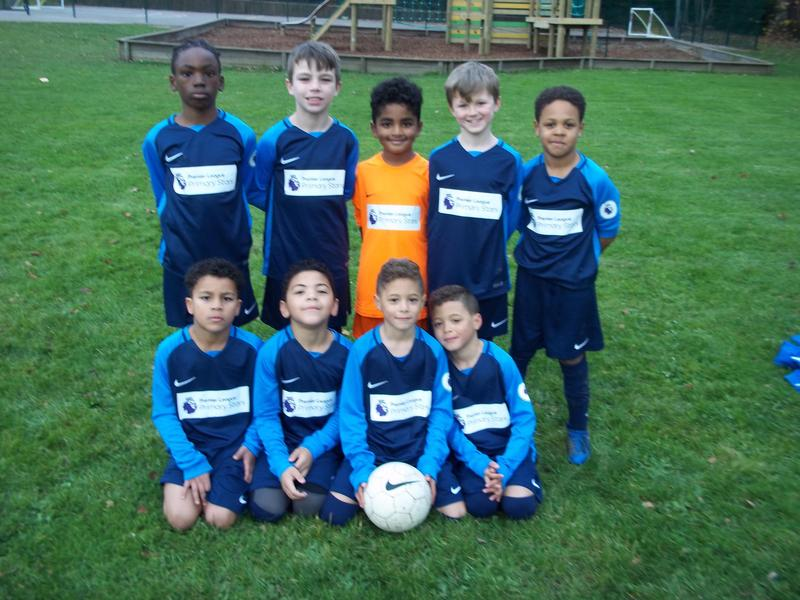 Looking smart chaps in our new kit
