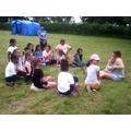 Activities in camp