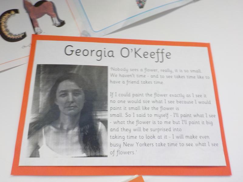 Georgia O'Keefe- our inspiration