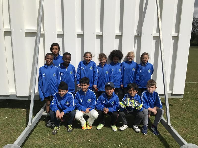 Team photo in our new jackets