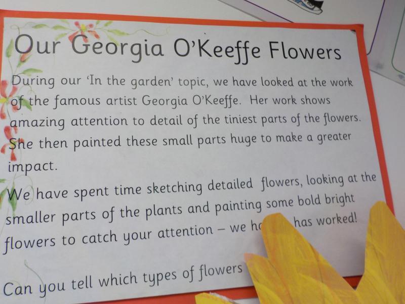 Georgia O'Keefe loved flowers and nature.