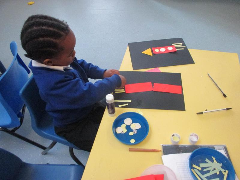 Rockets using shapes