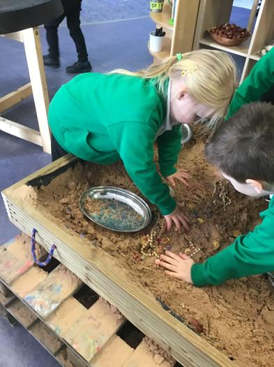Sieving in the Sand