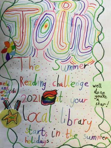 Poster by Year 2 pupil