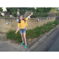Phoebe's VE Day bunting
