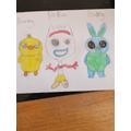 Amelia's art work