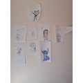 Disney characters by Phoebe