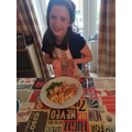 Izzy's Greek inspired kebabs