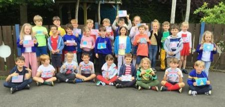 Y2 children learnt songs from a range of different countries