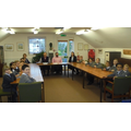 School Council Visit to the Town Council