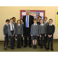 The Rt Hon Michael Fallon MP visits