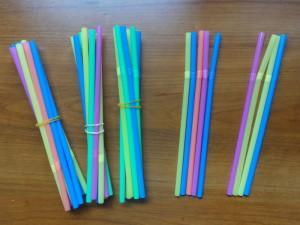 Straw bundles (Bundles of 10 then individual ones)