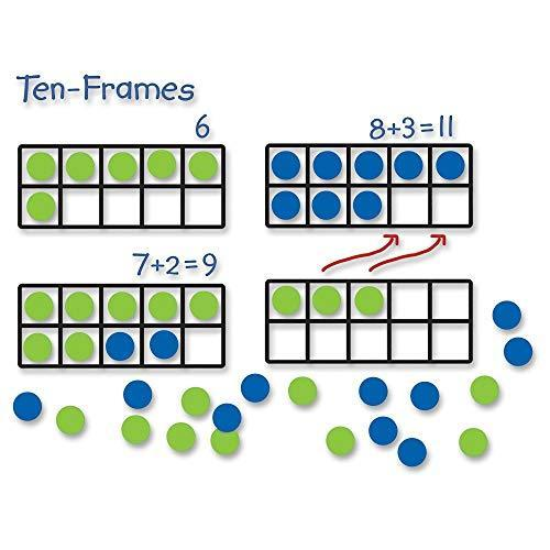 Tens frames and reversible counters