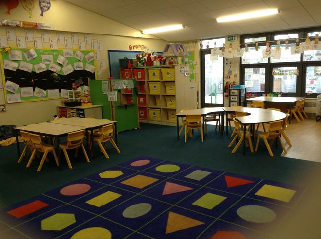 Foundation - Oranges classroom